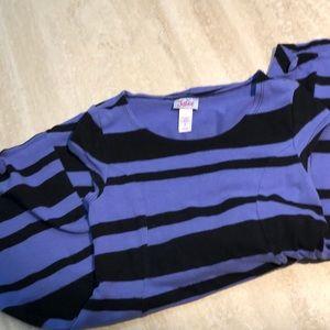Justice size 7 cotton / spandex dress